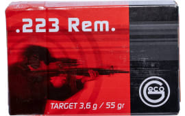 256140050 Geco .223 Remington FMJ 55 GR - 50rd Box