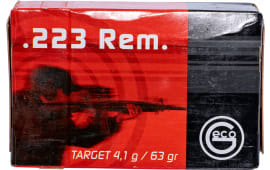 256240050 Geco .223 Remington FMJ 63 GR - 50rd Box