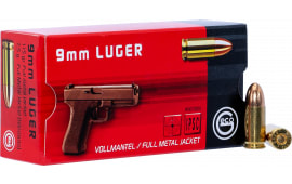 220240050 Geco 9mm Luger 115 GR FMJ - 50rd Box