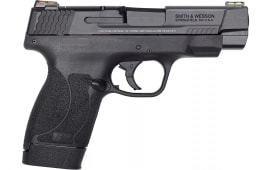 "Smith & Wesson M&P45SHLD 11864 PFMC 45 2.0 4"" FO(GR/RD)7/6rd"