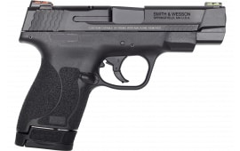 "Smith & Wesson M&P9 Shield 11787 PFMC 9M 2.0 4"" FO(GR/RD)8/7rd"