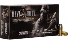 Hevishot hot 99040 Hevishot hot Duty 40 S&W 125 GR - 50rd Box