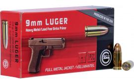 292240050 Geco 9mm Ball 115 GR Leadfree - 50rd Box