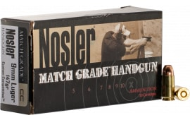 NOS 51325 Match HG 9mm 147 Jacketed Hollow Point - 50rd Box