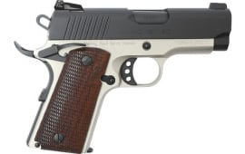 MKE Firearms 390042 MC1911SC Officer ADJ. Sights TWO-TONE