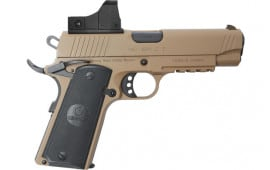 MKE Firearms 390055 MC1911C Commander ADJ. SGT w/OPTIC FDE