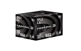 Federal Black Pack 22LR 38 GR Copper Plated Hollow Point 1100rd Box