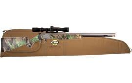 CVA PR2112SSC Wolf 50CAL SS Camo 3-9X32 w/case Black Powder Rifle