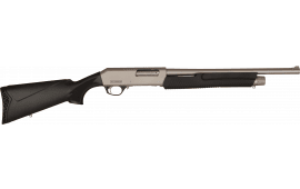 "Dickinson XX3BM2  Marine Commando, 18.5"" Barrel, 3"" Chambers, Black Poly Stock, 12 Gauge Shotgun"