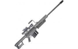 Barrett 12412 82A1 50BMG 29 Black SYS w/ Scope 10rd
