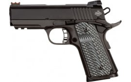 Rock Island Armory 51700 1911 TAC Ultra 9mm Compact 3.5 VZ Grip 8rd