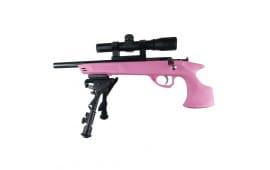 Keystone Sporting Arms KSA794PKG Pistol Synthetic PNK 22WMR w/scp