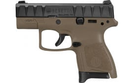 "Beretta JAXN92005 APX 9MM Semi-Auto Carry Pistol - SF 3.07"" BBL, FDE 6/8rd"