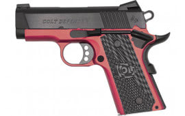 "Colt Defense O7800XEAR Defender 3"" FIXED. Sights 7rdALLOY/RED Talo"