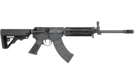 "Rock River Arms AK1275 LAR-47 Tactical Comp Semi-Auto 16"" 30+1 RRA Operator CAR Stock Black"
