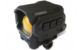 Steiner 8501 R1X 1x Illuminated Single/3 Dot Black CR2032 Lithium