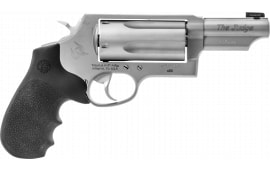"Taurus 2441039MAGNSO Judge 45C/410 3"" MG NS Black/HOG Revolver"