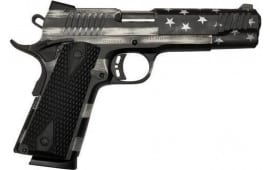 Legacy Sports CITC9MMFSPUSAG M1911 Government USA Flag Grayscale G10