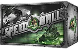 "Hevishot hot 70301 Speed Ball 12GA 3"" 1-1/4oz #1 Shot - 10sh Box"