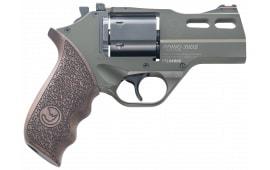"""Chia 340.285 Rhino 30DS 357 3"""" OD Green Revolver"""