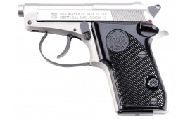 "Beretta J212500 21 Bobcat Inox 22LR 2.4"" 7+1 Black Synthetic Grip Gray/SS"