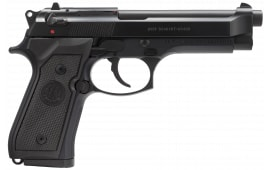 """Beretta J92M9A0M M9 9mm LTD 15+1 4.9"""" Synthetic Black Grip Bruniton Barrel"""