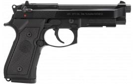 """Beretta JS92M9A1M 92FS M9A1 9mm LTD 15+1 4.9"""" Black Synthetic Grip Black"""