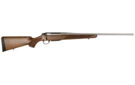 """Tikka T3 JRTXA716 T3x Hunter Bolt 308 Winchester 22.4"""" Fluted 3+1 Wood Stock Stainless Steel"""