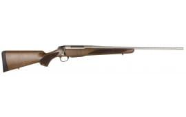 """Tikka T3 JRTXA770 T3x Hunter Bolt 7mm Rem Mag 22.4"""" Fluted 3+1 Wood Stock Stainless Steel"""