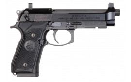 "Beretta J90A192FSRF1 92 DA/SA .22 LR 4.9"" 15+1 Black Grip"