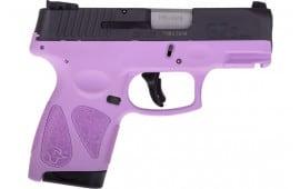 Taurus 1G2S931LP G2S Slim 7rd3-DOT ADJ. BLACK/LIGHT Purple