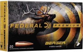 Federal P280IBCH1 280 Ackley 168 Berg Hyhnt - 20rd Box