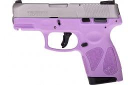 Taurus 1G2S939LP G2S Slim 7rd3-DOT ADJ. SS/LIGHT Purple