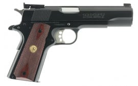 "Colt O5870A1 1911 Gold Cup National Match Series 70 SAO 45 ACP 5"" 8+1 Rosewood Grip Blued"
