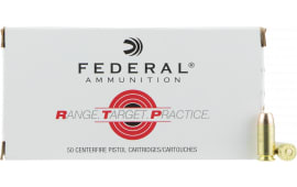 Federal RTP40180 40 180 FMJ RNGTRT - 50rd Box