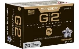 Speer 24226 Gold Dot G2 9mm 147 GD2 - 20rd Box