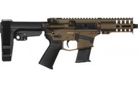 CMMG 57A1843MB Pistol Banshee 300 MK57 20rd Midnight Bronze