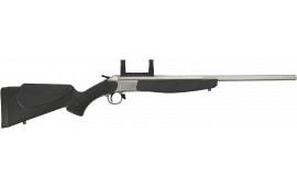 """CVA CR4111S Scout Break Open 22"""" Black Synthetic Stainless Steel"""