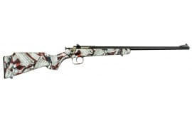"Crickett KSA2168 Single Shot Amendment Blued Bolt .22 LR 16.125"" 1 Synthetic Custom Amendment Flag Stock Blued"