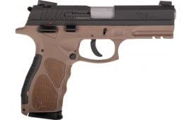 "Taurus 1TH9041B TH9 4.25"" ADJ.17rdBLACK/BROWN Polymer"
