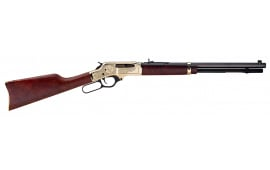 "Henry H009BWL Big Boy Special Wildlife Brass Lever .30-30 Win 20"" 5+1 American Walnut Stock Blued Barrel/Brass Receiver"