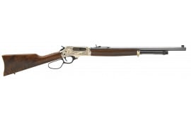 "Henry H010BWL Big Boy Special Wildlife Brass Lever .45-70 Govt. 22"" Octagonal 4+1 American Walnut Stock Blued Barrel/Brass Receiver"
