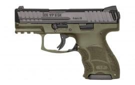 """Heckler and Koch 81000097 VP9SK 9mm 3.4"""" 10rd"""