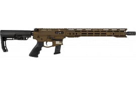 """Juggernaut Tactical JTR9MM16BBCAHFFF 9M 16"""" 15"""" M-Lok *CA* BRNZ"""