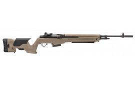 "Springfield Armory MP9220 M1A Loaded Semi-Auto .308 22"" 10+1 Precision Adjustable Synthetic FDE Stock Black"
