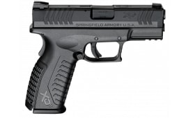"""Springfield Armory XDM9389BHCE XD(M) Full Size Black Double 9mm 3.8"""" 19+1 Black"""