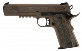 "Walther Arms 5170310 1911 Single 22 Long Rifle 5"" 12+1 Black Polymer Grip Flat Dark Earth"