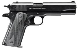 "Walther Arms 517030410 1911 Single 22 Long Rifle 5"" 10+1 Black Polymer Grip Black"