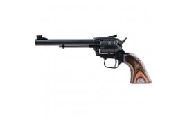 Heritage Arms RR22MBS6AS Rough Rider 22LR/MAG 6.5 AS Black Green Camo GRI Revolver