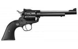 """Ruger 0661 Single-Six 17 HMR Single .17 HMR 6.5"""" 6 Black Rubber Blued Revolver"""